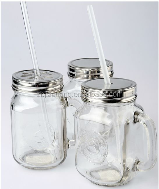 Zibo Tysan Light Industrial Products Co Ltd: 4 Sizes Stainless Steel Lid,Square Glass Mason Jars