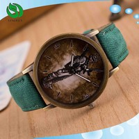 New sprot fashion Leisure PU leather cheap wrist watch