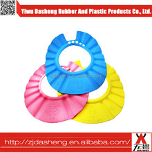 New design fashion low price children keep water off face shower cap