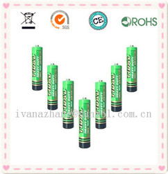 r6 aa size um3 battery made in china