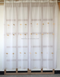voile embroidery wholesale ready made curtain fr alibaba