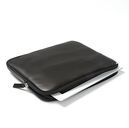 Top quality leather laptop tablet sleeve case