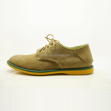 soft nubuck lightweight low heel comfortable oxfords fashionable color match men genuine leather casual footwear shoes resource