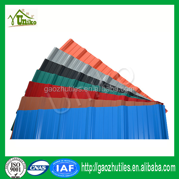 China pvc roof types of roof covering heat proof double for Types of roof covering materials