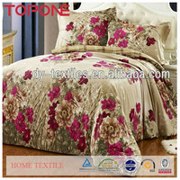 Hot selling commercial fabric painting designs bed sheets