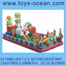 big inflatable playground jumping amusement park air entertainment products