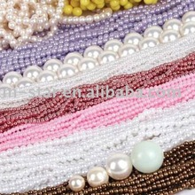 2015 New fashion ABS Imitation pearl full size smooth quality