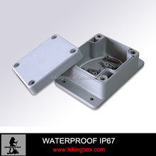Small IP66 waterproof plastic enclosure /wall mounting junction box with ears HPE032