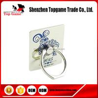 Removable Sticker Metal Mobile Phone Holder Ring for Promotion