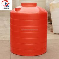 HOT!Food grade plastic water storage tower/water storage tank/plastic rainwater storage tank with lid wholesale