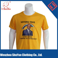 Customized promotional political cheap election campaign t-shirts