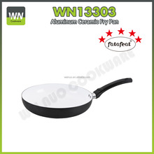 Forged Aluminum Ceramic Coating Color Changing Fry Pan(WN13303)