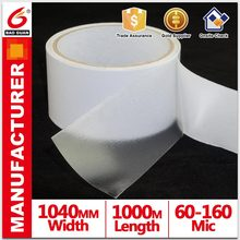 High Quality Water glue PET double sided tape Jumbo Roll