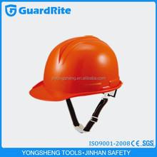Guardrite brand plastic cheap construction high resistance safety helmet