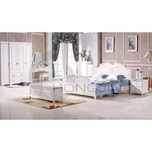 6 piezas de madera de muebles de dormitorio juegos