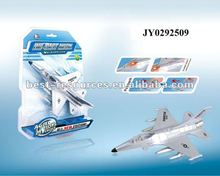 Die cast toy metal plane die cast toy plane die cast plane have light and sound function pull back
