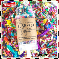 Factory Price Interesting Popular Biodegradable Confetti Poppers