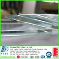 4-19mm ultra clear vidro temperado para edifícios altos com ccc/como/zns 2208/9001 iso certificados