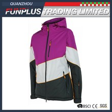 cheap custom breathable sport autumn winter lady jacket