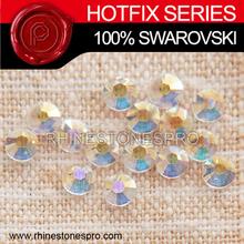 Wedding Dress Swarovski Elements Transparent transmission Hotfix (TRAN) 20ss Crystal Iron On Hotfix Rhinestone