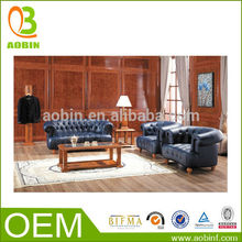 salón de antigüedades muebles sofá de cuero