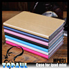 Hot sale glossy leather book shell blank case for ipad mini