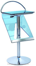 adjustable blue cheap commercial metal bar stools for sale