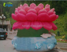 2015 Hot sale inflatable flower decoration/inflatable flower for events/indoor and outdoor events inflatable flower