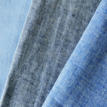 "100% Cotton Yarn Dyed 21x21 64x54 57/8"" 135gsm Chambray fabric"