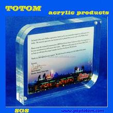 POP 2012 new design factory price hign quntily cute acrylic photo frame