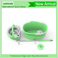 White Magic Microfiber Spin Mop, OMEGA 360 Hurricane Go pro Magic mop