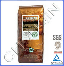 High quality recyclable stand up pouces for coffee bean