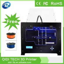Most affordable 2 extruder mk7 mk8,office 3D printer machine,3d printer