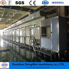 electroplating machine plastic plating line chrome plating