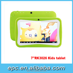 Hot sale the tablet case for 7 inch kids tablets for learning, best Children tablet pc android