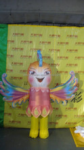 customized new style inflatable mascot costume of Phoenix