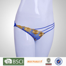 For Sale Fitness Young Girl Embroidered Hot Thongs