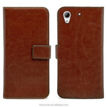walet cell phone protective case for htc desire 626 folding wallet case