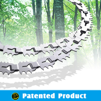 new design chain saw , portable steel chain saw , sawing wood pipe pvc.outdoor survival kit