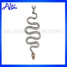Snake Shape Charm Pendant Wholesale