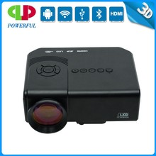 Mini LED portable projectpor hd projector 3d projector with AV/HDMI/VGA/USB/SD
