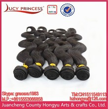 Brazilian Human Hair Wet And Wavy Weave, 22 24 26 28 30 Inches 6A Brazilian Hair Weave