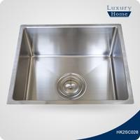Economy fancy farm single bowl drop in inox kitchen sink
