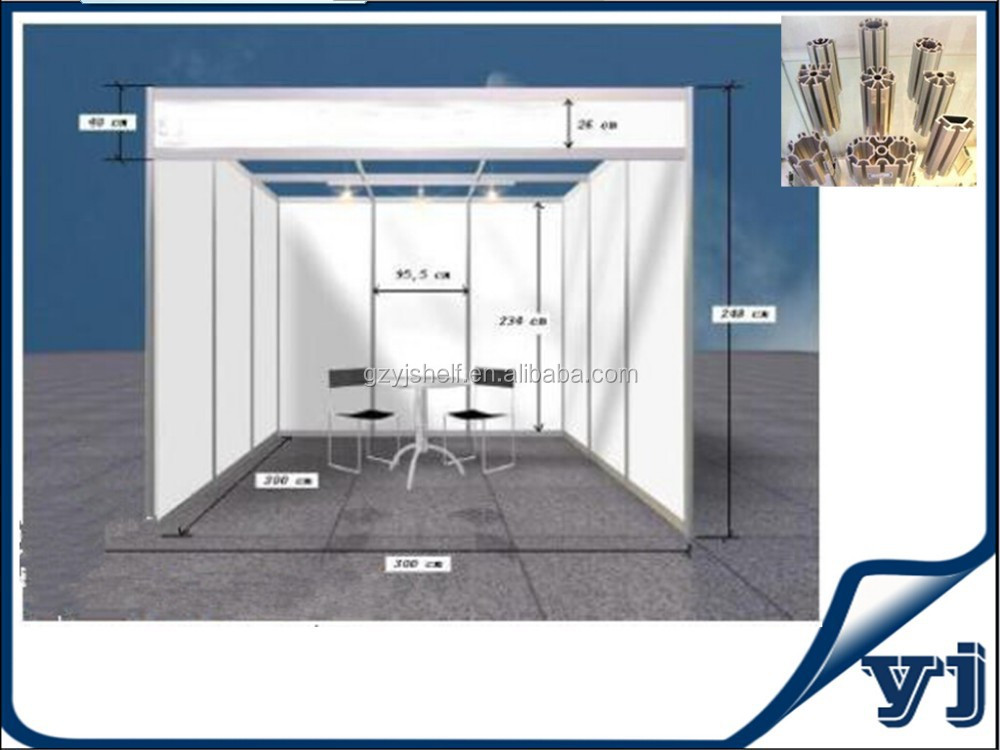Trade Show Booth Equipment : Aluminium trade show booth aluminum stand for