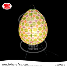 Modern handmade ovoid paper table lamp wholesale