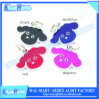 Dogs application and pet collars & leashes type cute pet tag with custom logo