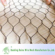 alibaba china manufacture High Tensile Stainless Steel Wire Rope Mesh/Net (Factory Sale)