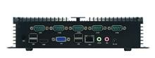 SDM100_618- Industrial MINI Linux Embedded PC RS232 ,X86 fanless embedded mini box pc 12V