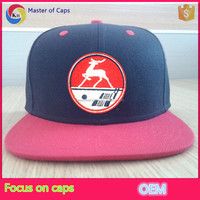 2015 design your own flat bill snapback caps custom factory snapback hats