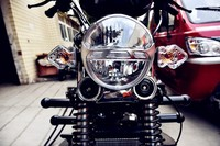 150cc motorized bajaj used for cargo with air cooled engine made in china